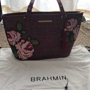 Brahmin tote Rossini collection, Asher floral